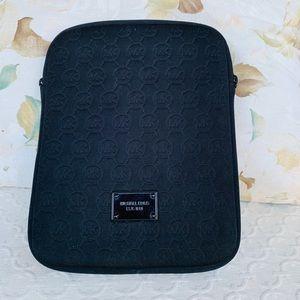 Michael Kors Black Padded Tablet Case